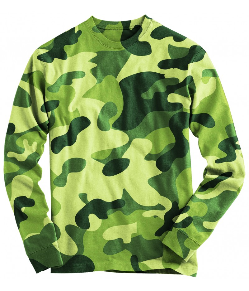 Ловна блуза -камуфлаж