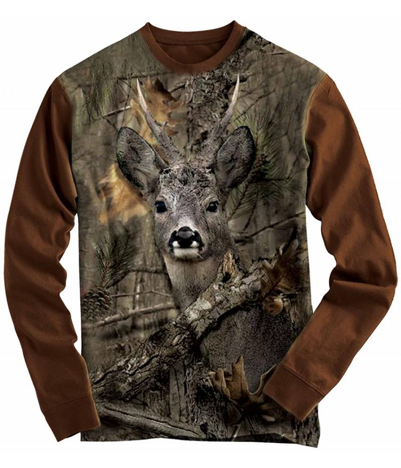 Ловна блуза със сръндак