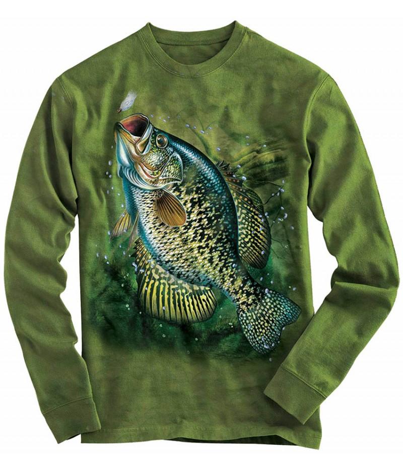 Риболовна блуза с рисуван шаран