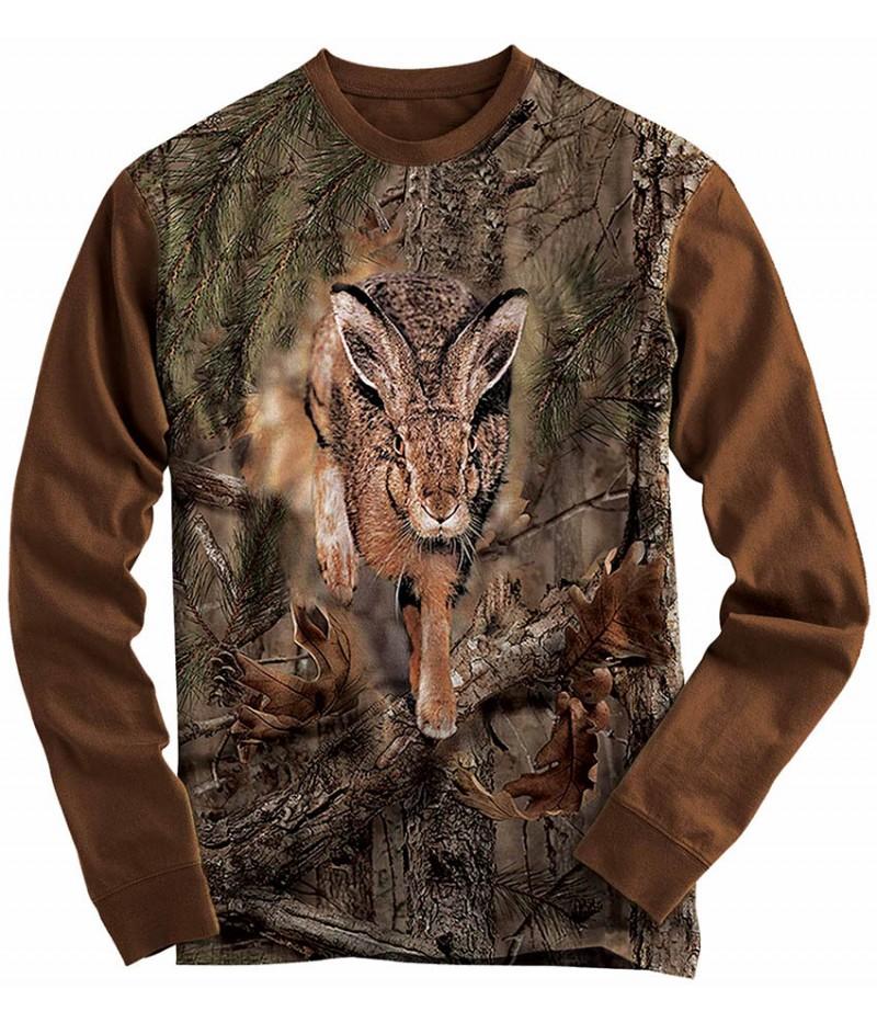 Ловна блуза със заек