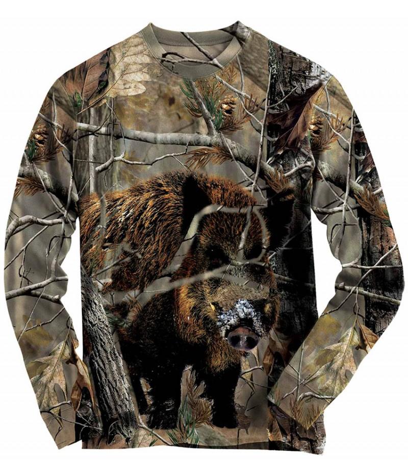 Ловна блуза с глиган