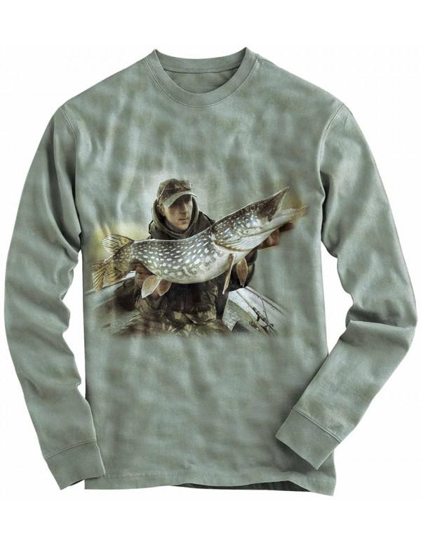 Риболовна блуза с щука
