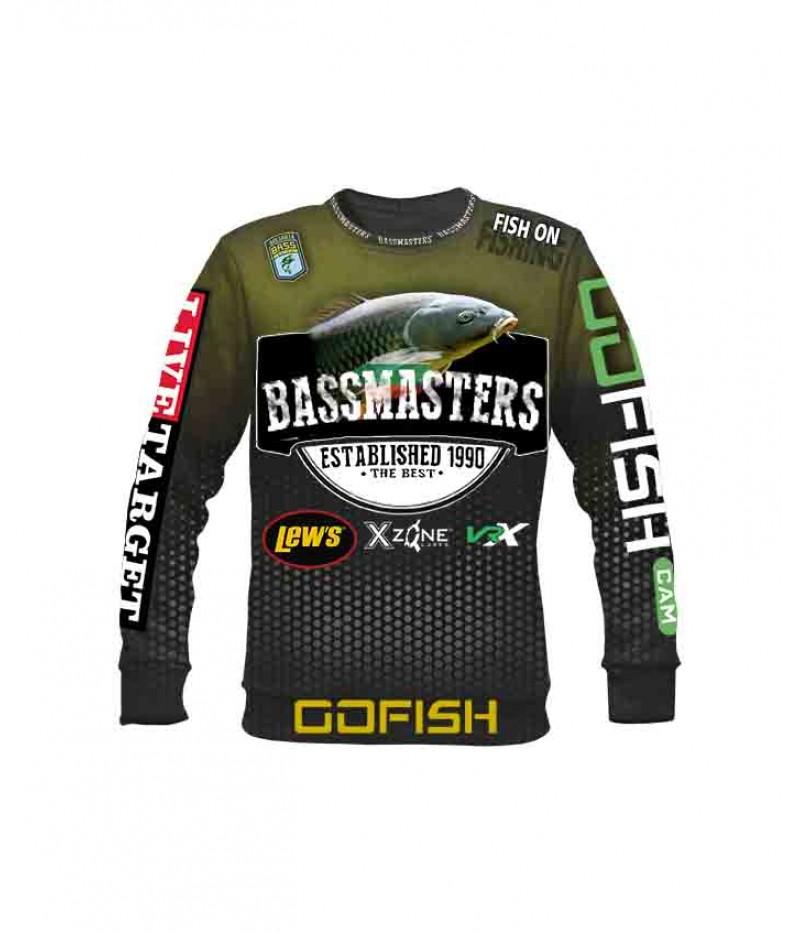 Риболовна ватирана блуза-Bassmasters