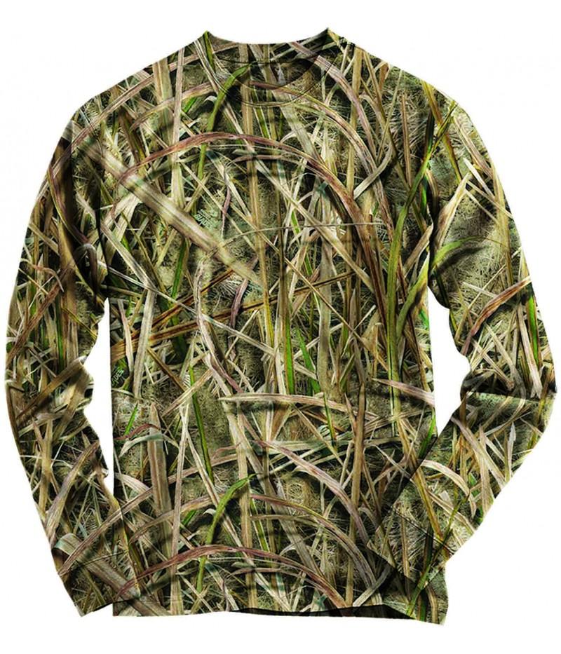 Ловна блуза с камуфлаж тръстика