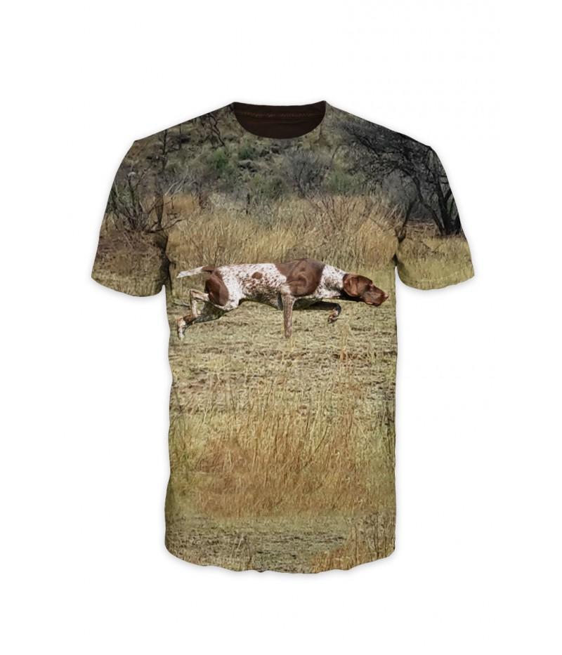 Ловна тениска с пойнтер