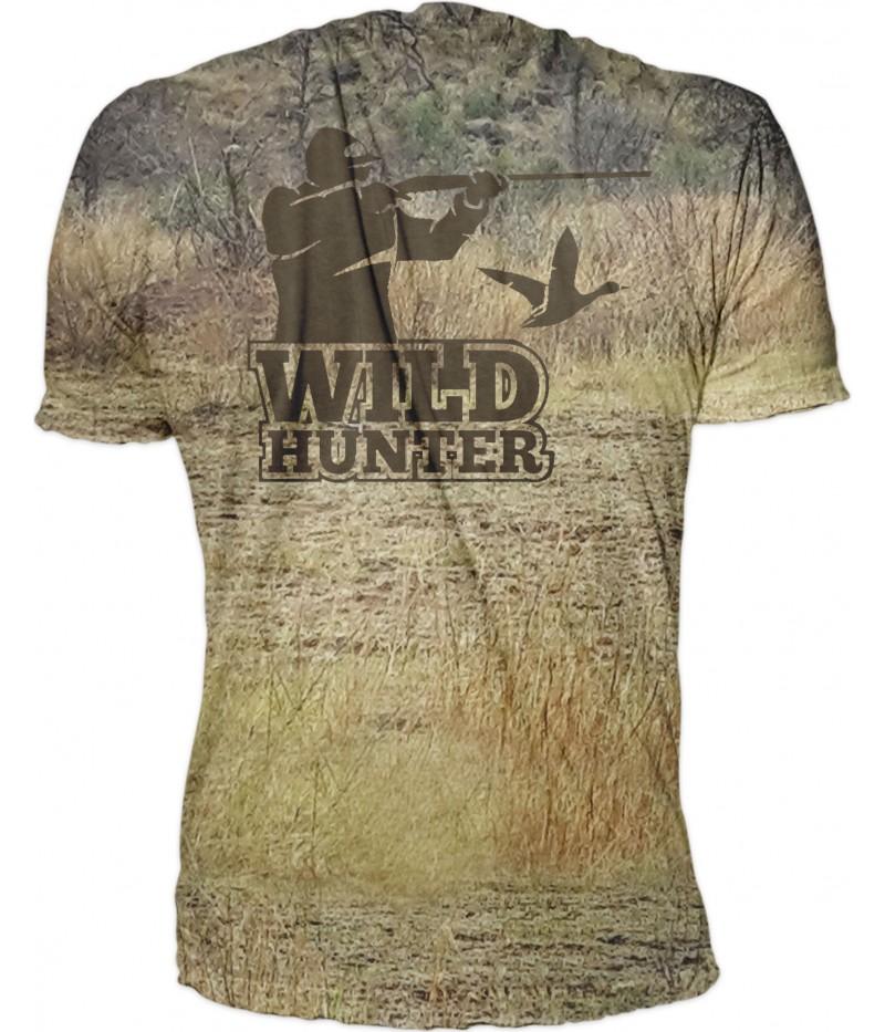 Ловна тениска с кеклик