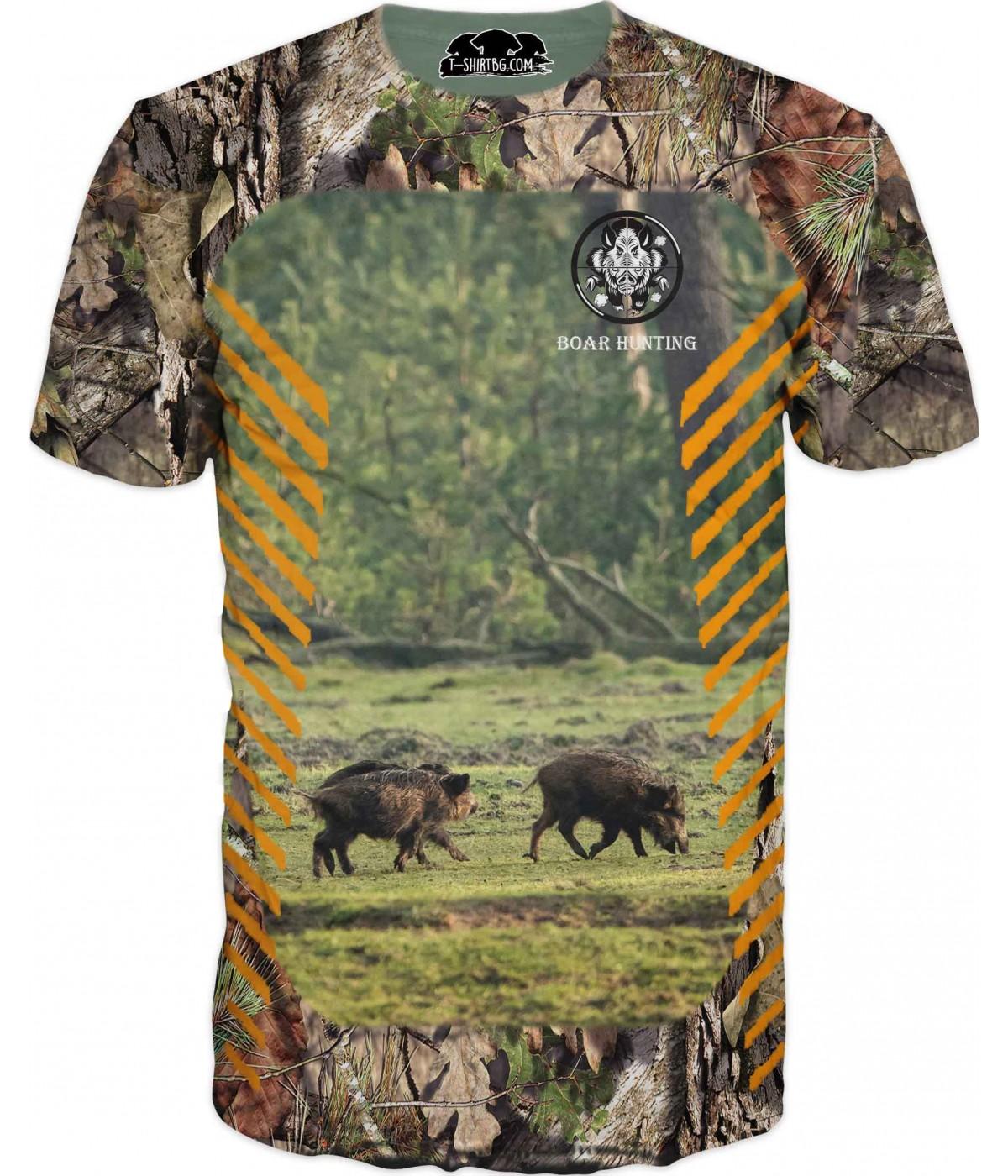 Ловна тениска - два глигана