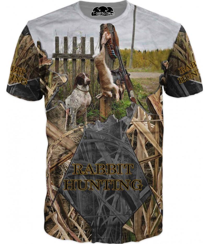 Ловна тениска - лов на зайци