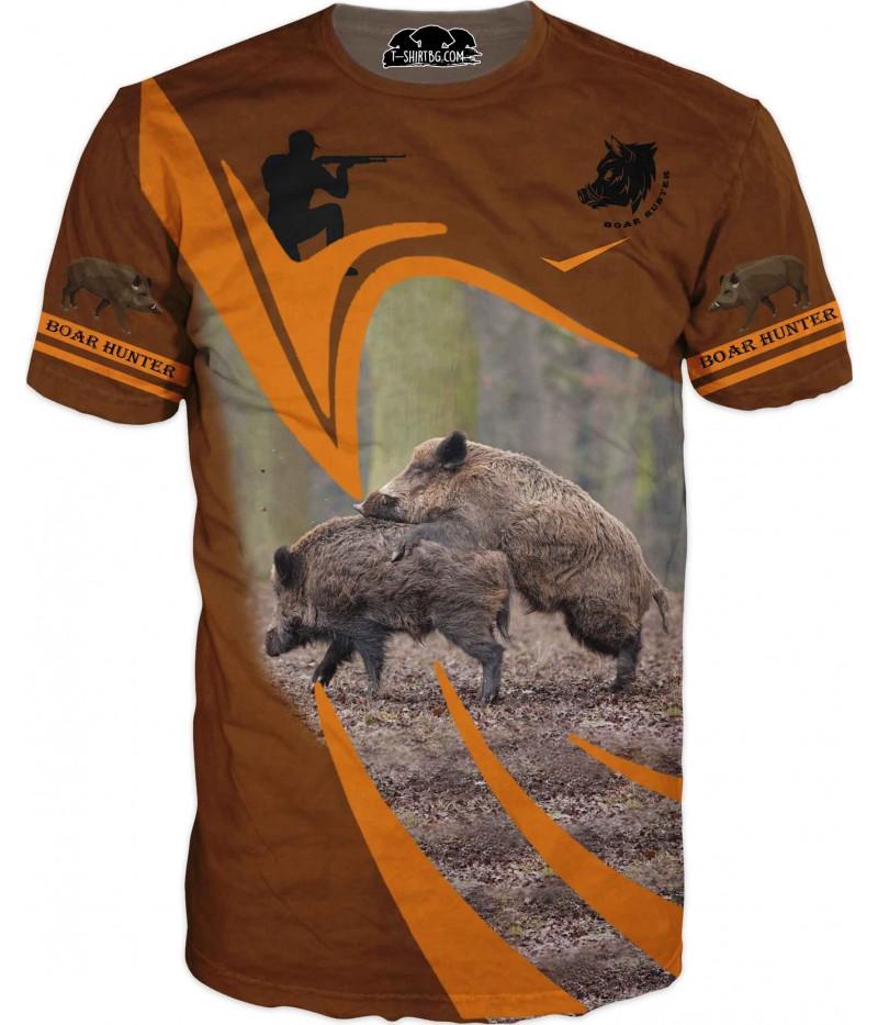 Ловна тениска за любители - прасета