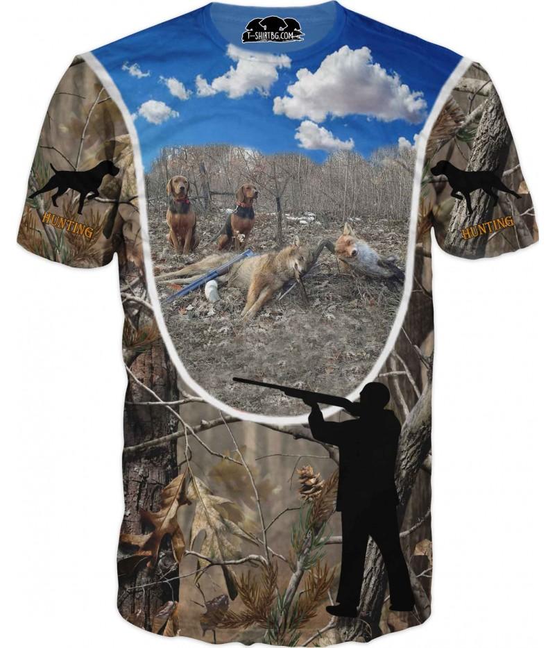 Ловна тениска - лов на лисици