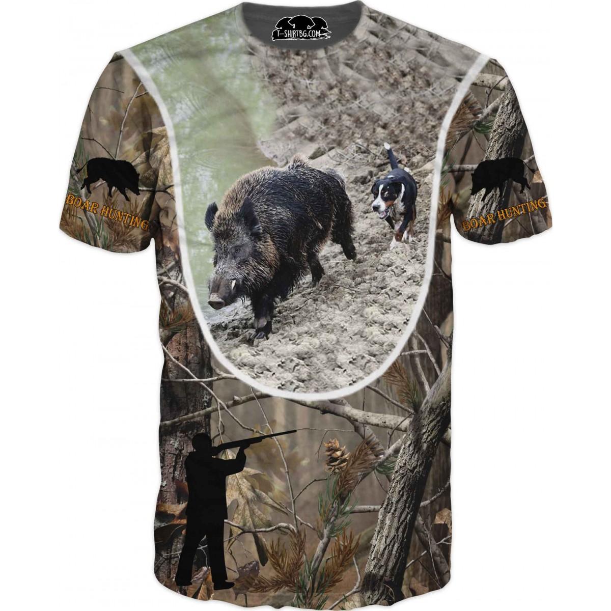 Ловна тениска - глигани на прицел