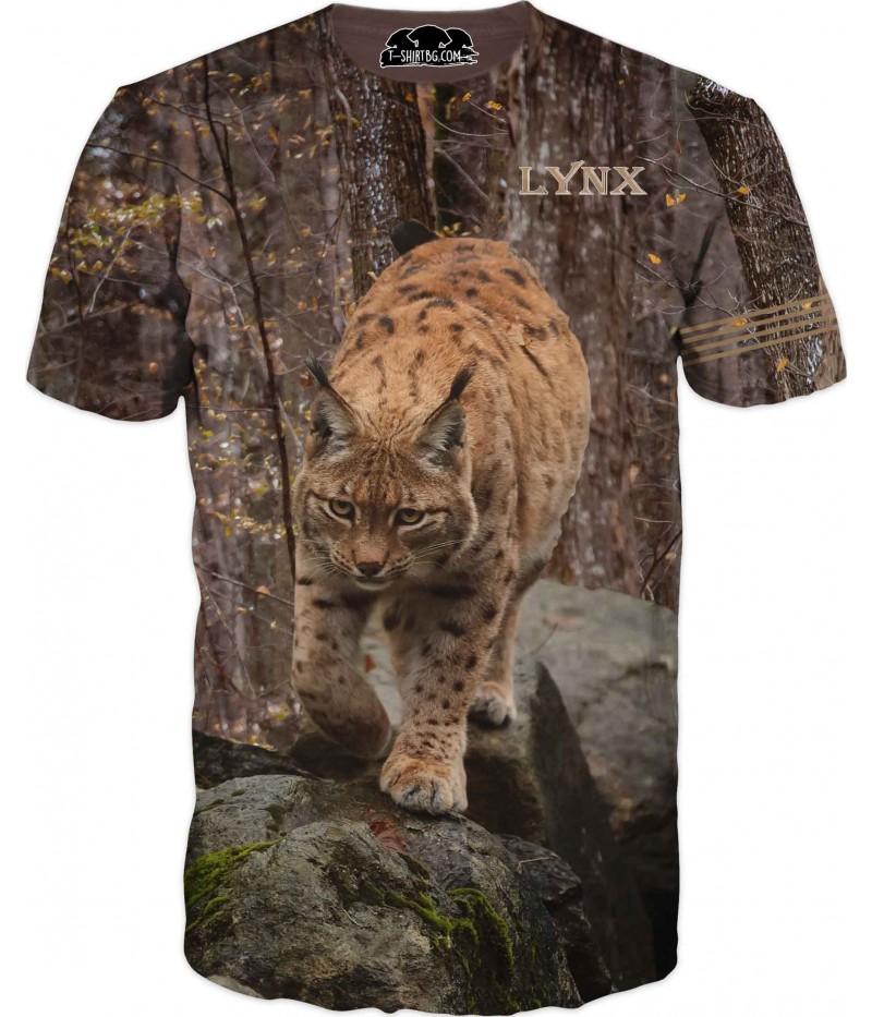 Ловна тениска с Рис