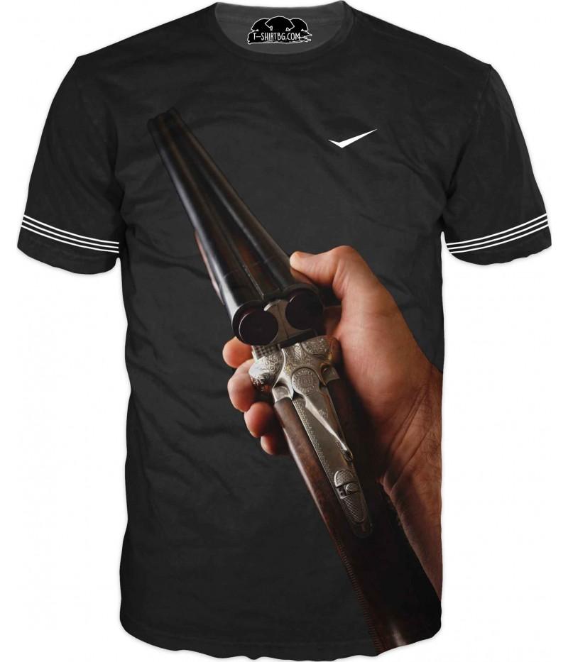 Ловна тениска за фенове - пушка