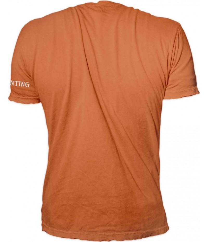 Ловна тениска с ловци на залез