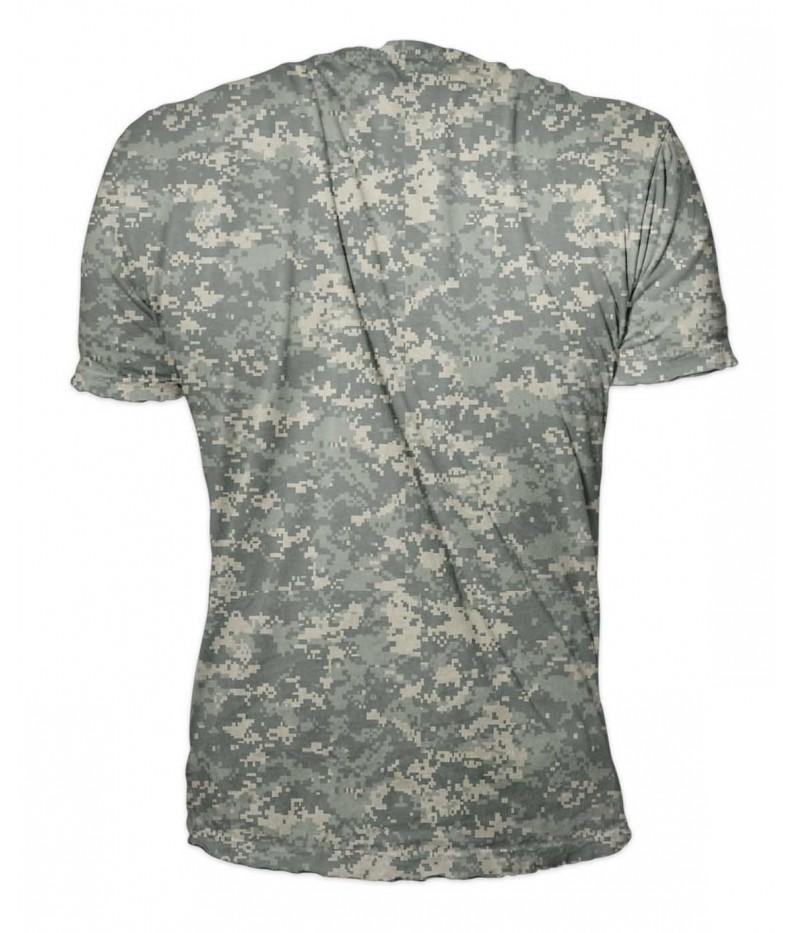 Ловна тениска с камуфлаж- ACU