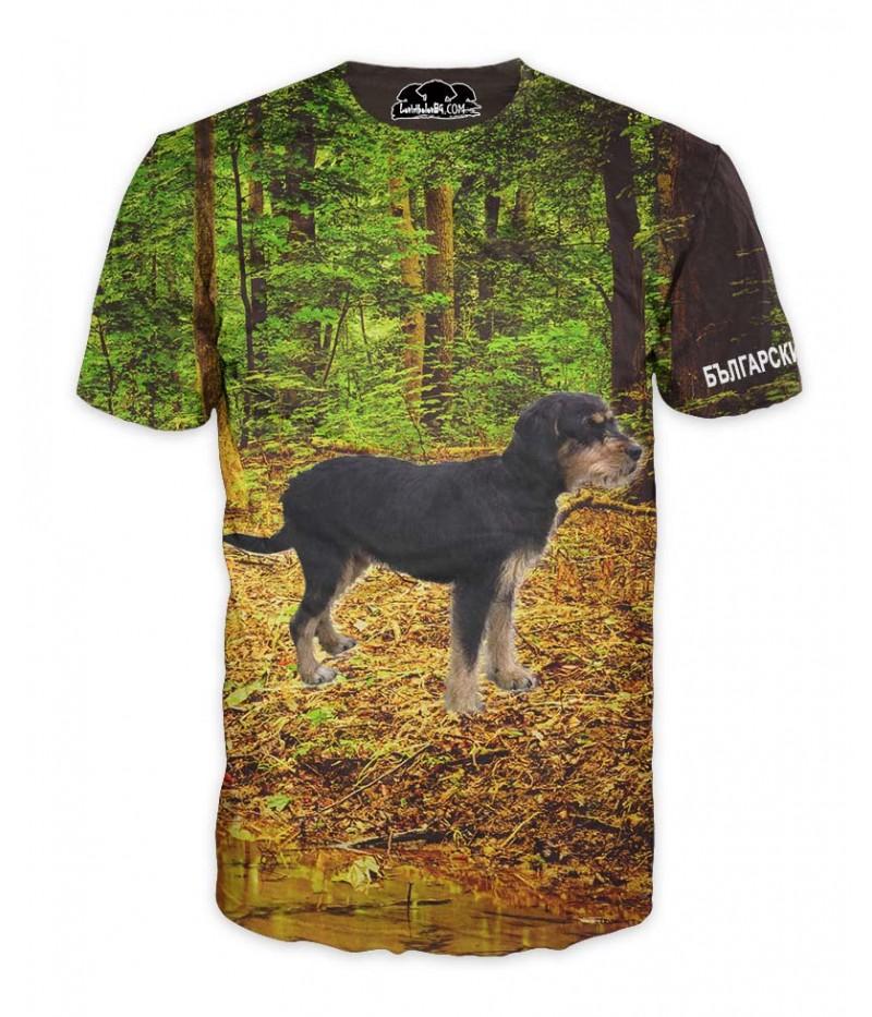 Ловна тениска с Български барак