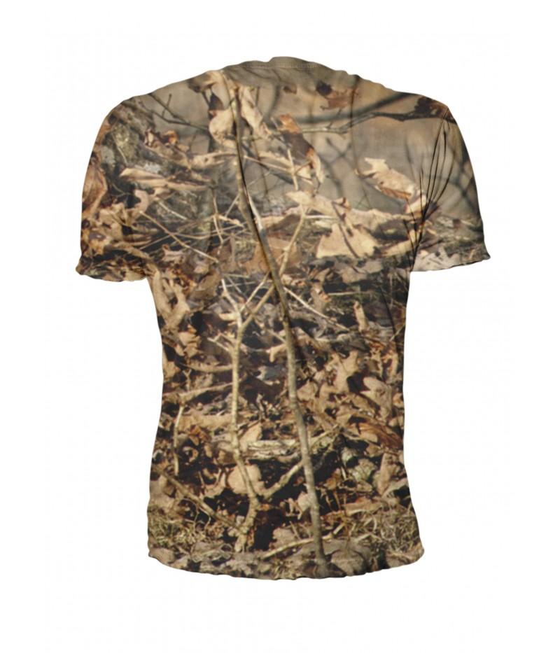 Ловна тениска с гонче и камуфлаж