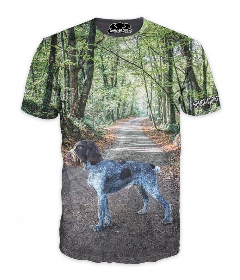 Ловна тениска с немски дратхар