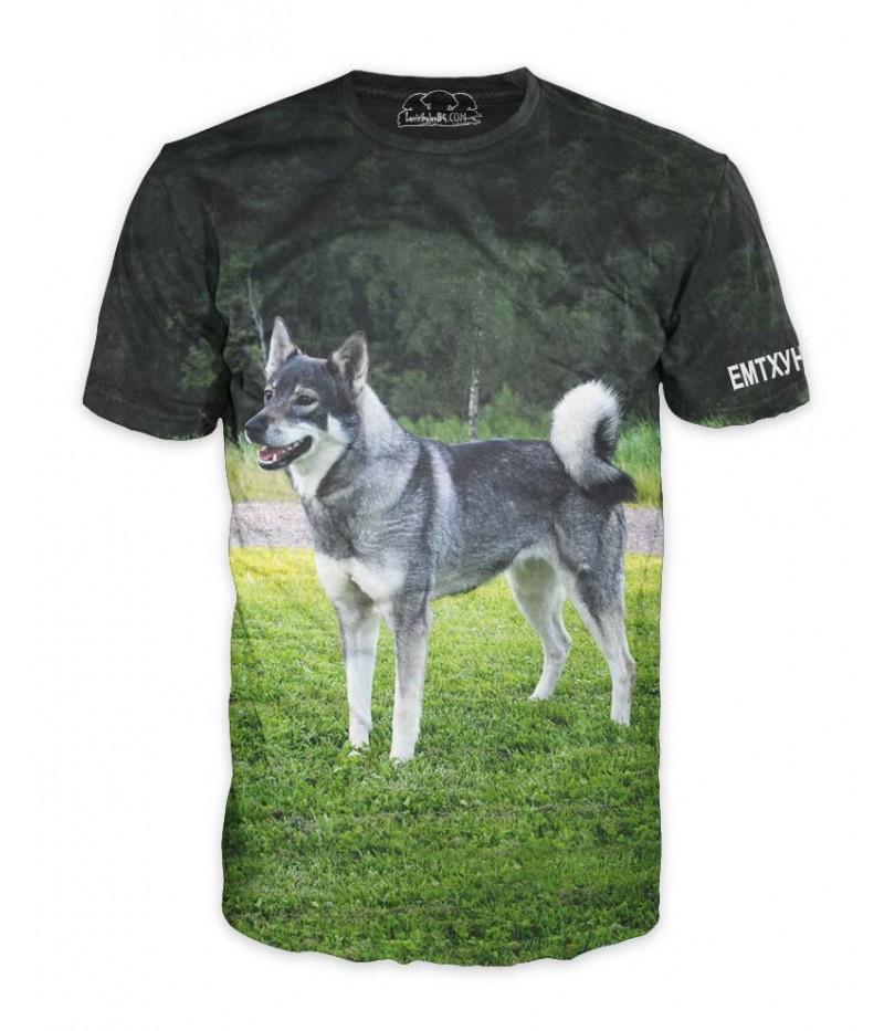 Ловна тениска с Емтхунд