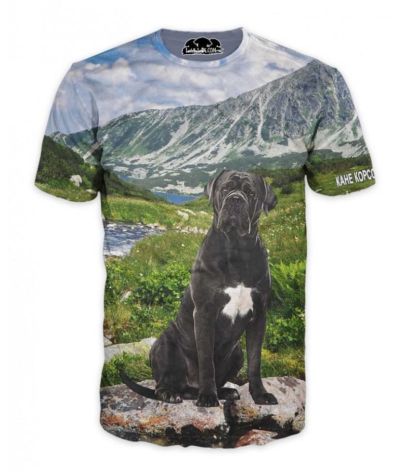 Ловна тениска с Кане Корсо