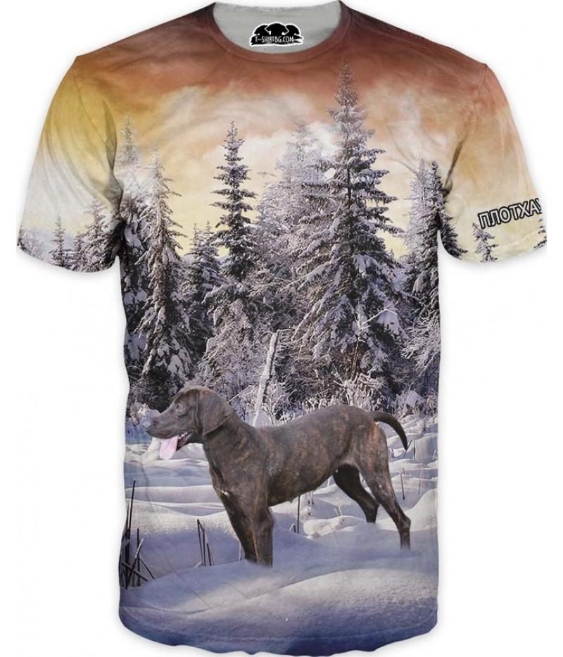 Ловна тениска с ПЛОТХАУНД