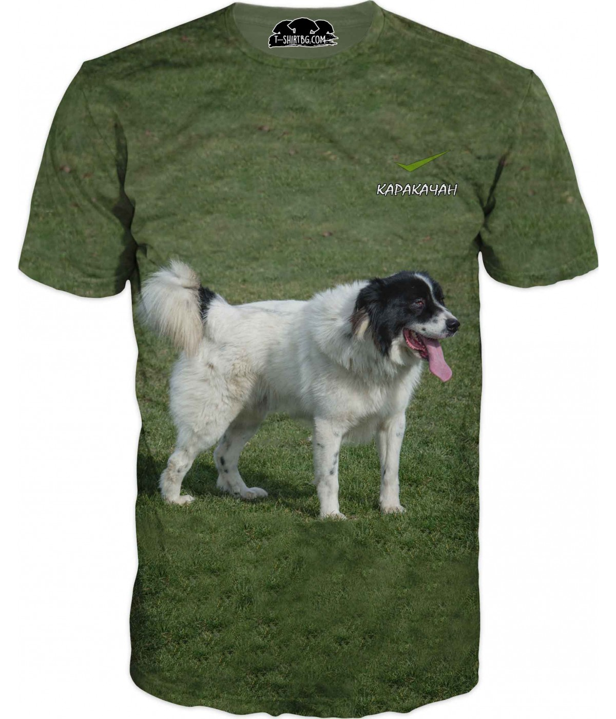 Ловна тениска с куче - Каракачан