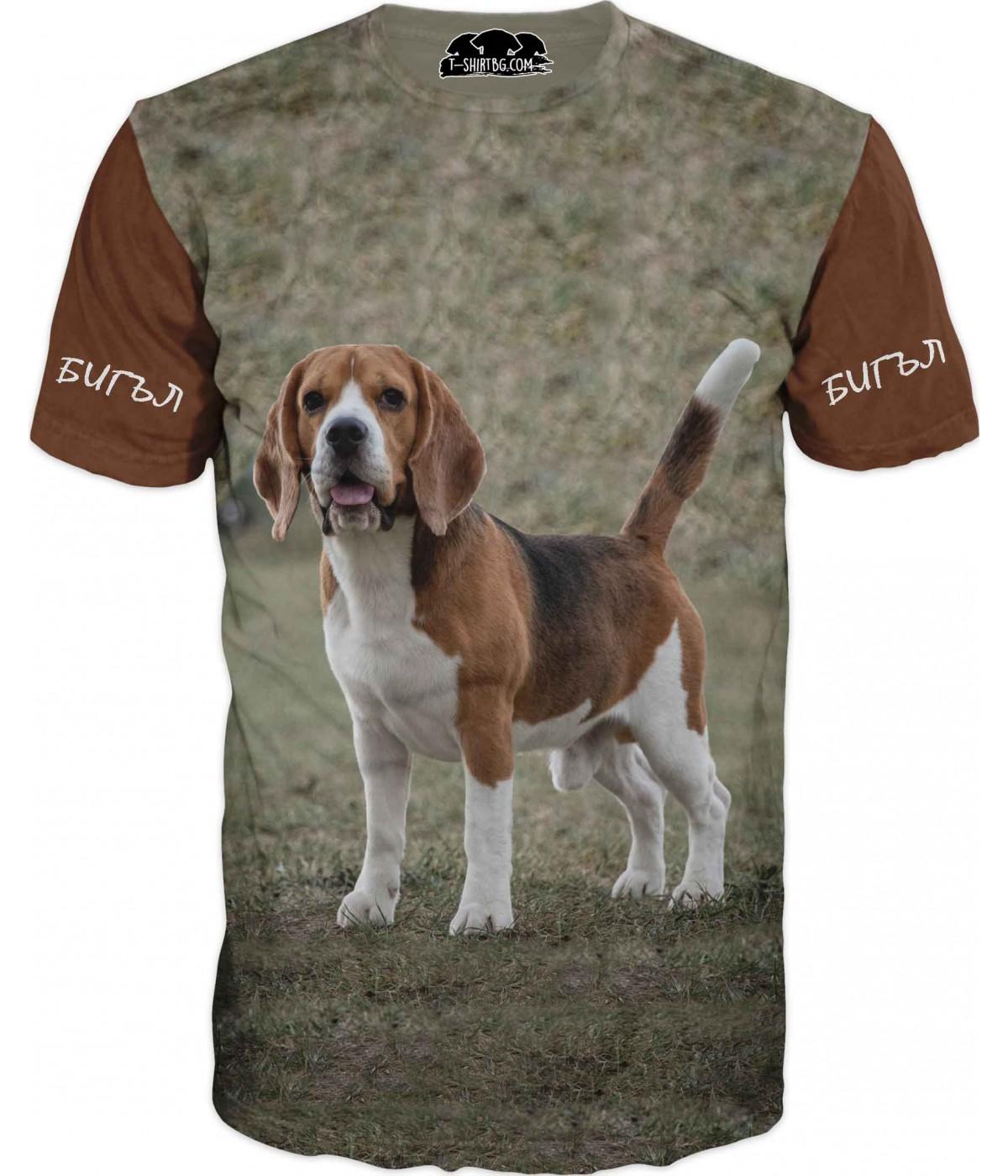Тениска с Бигъл