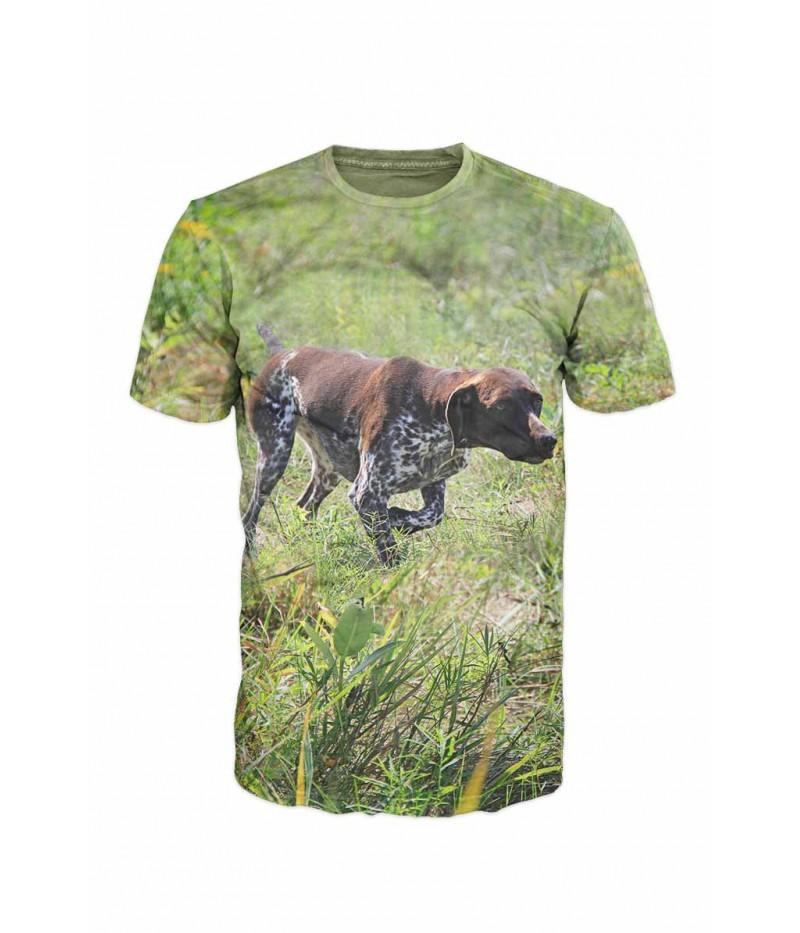 Ловна тениска със сетер