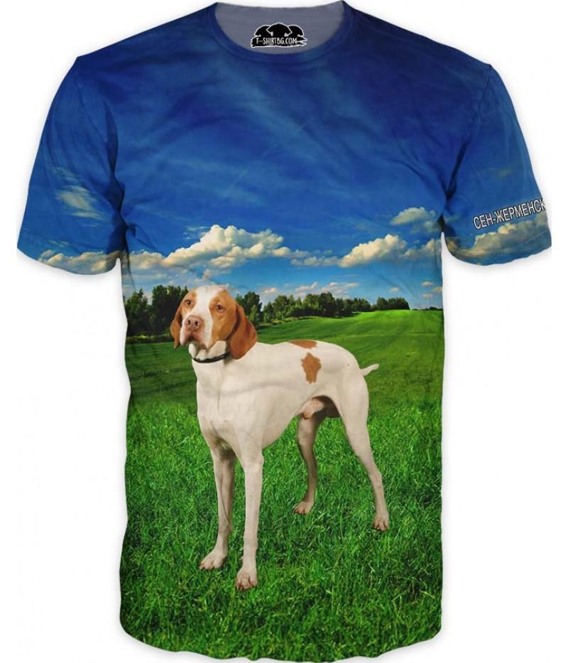 Ловна тениска със Сен-жерменски барак