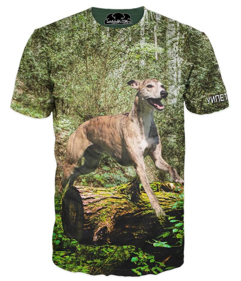 Ловна тениска с Уипет