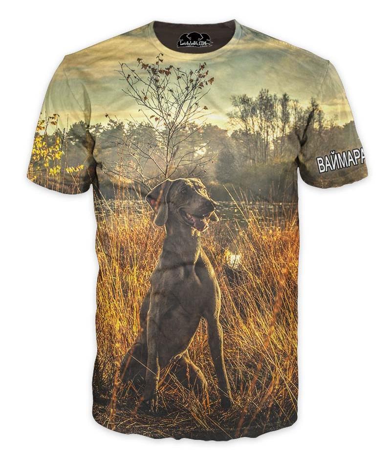 Ловна тениска с Ваймаранер