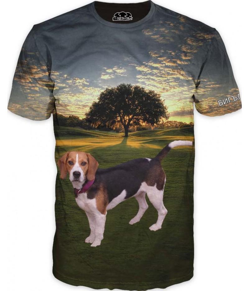 Ловна тениска с Бигъл