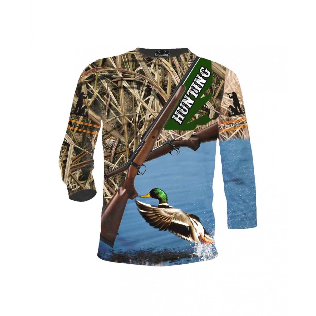 Ловна тениска - пушки и патица