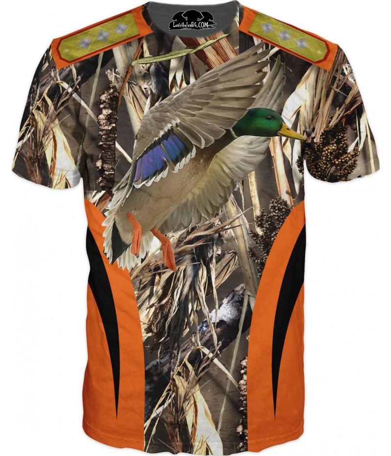 Ловна тениска - Патица - всеки добър ловец със звание