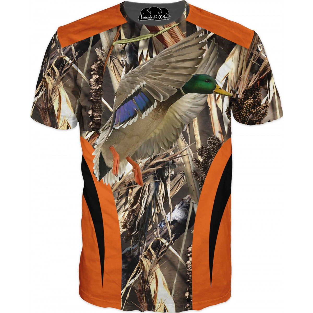 Ловна тениска - Патица - всеки добър ловец със звание с пагони