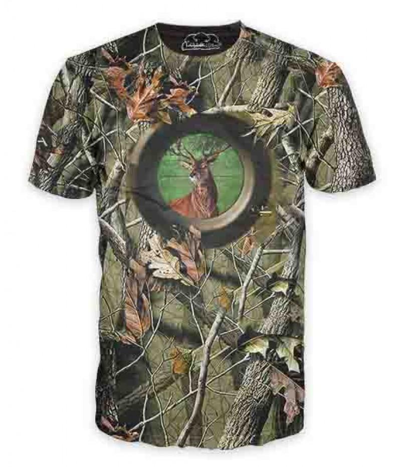 Ловна тениска  с елен-мерник