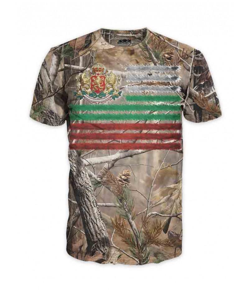 Ловна тениска - България-Завинаги