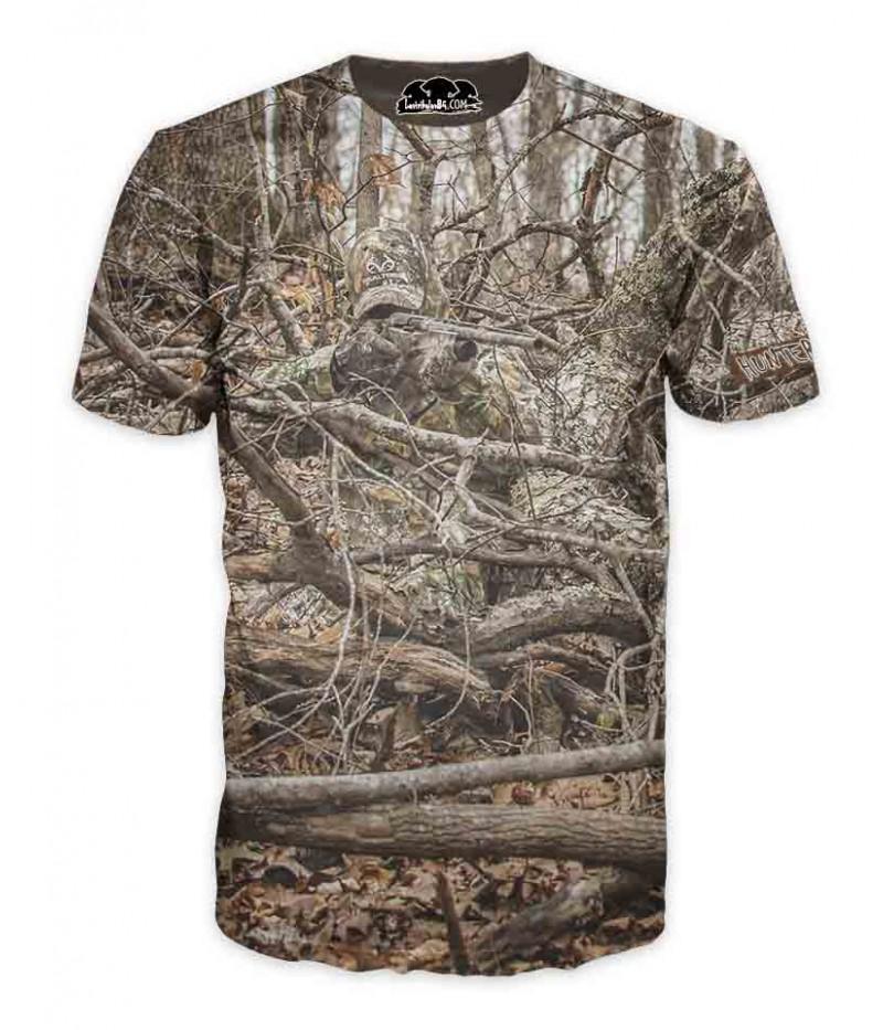 Ловна тениска-камуфлаж-ловец