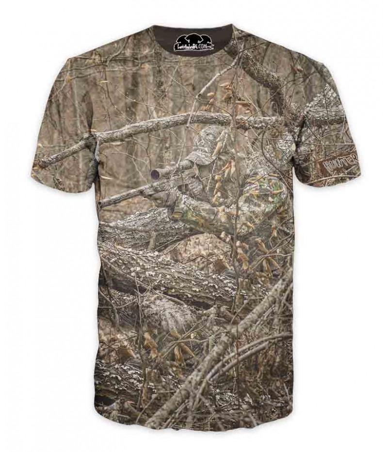 Ловна тениска-камуфлаж-ловец 2