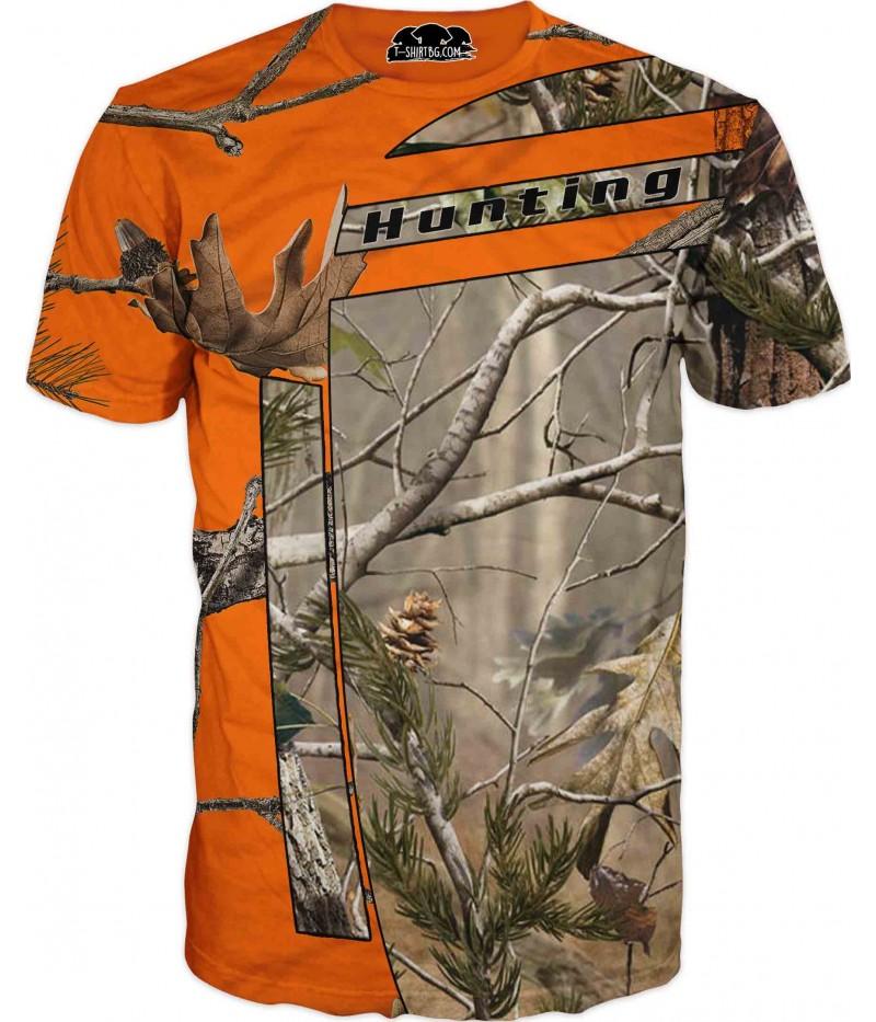 Ловна камуфлажна тениска - Лов