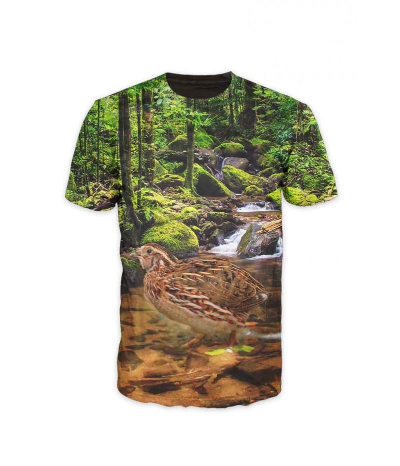 Ловна тениска с пътпъдък