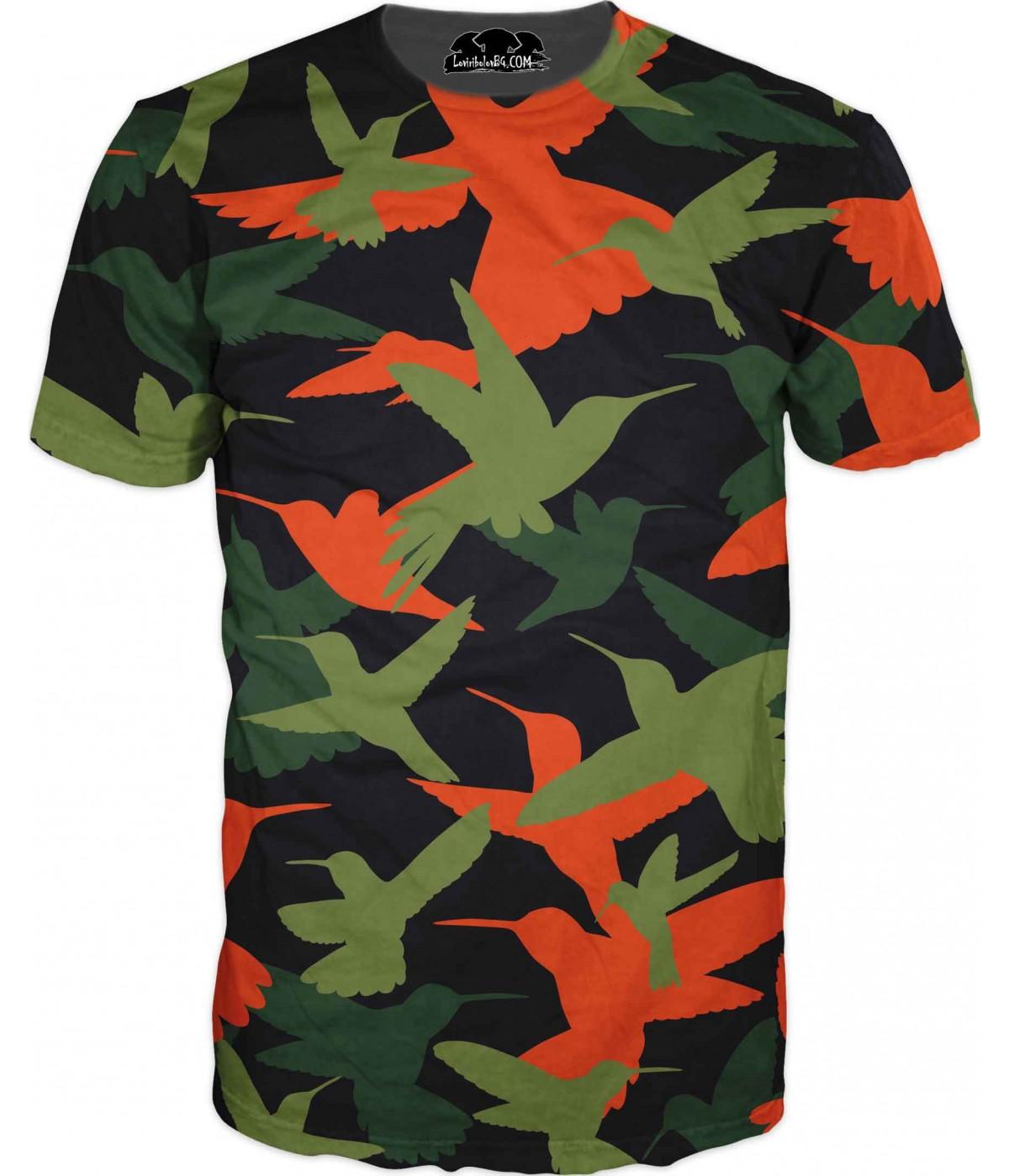 Камуфлажна тениска - 1