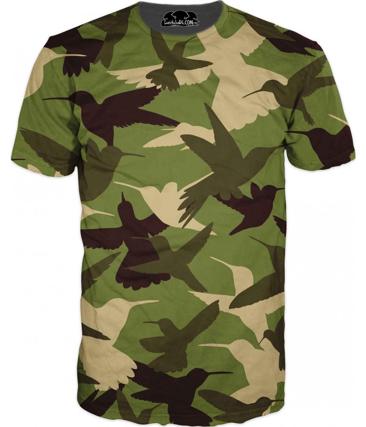 Камуфлажна тениска - 2