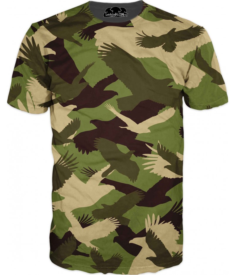 Камуфлажна тениска - 3