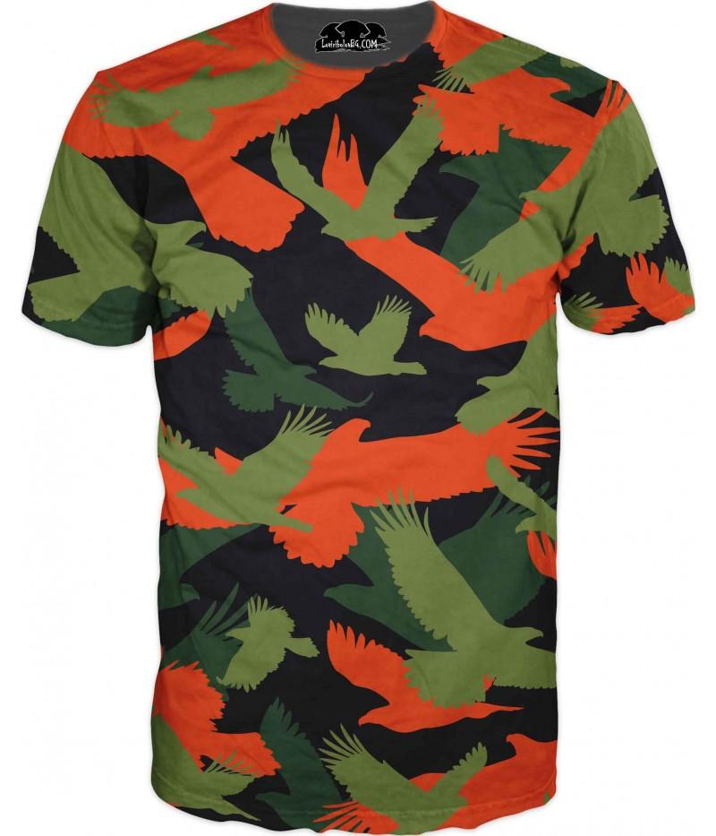 Камуфлажна тениска - 4