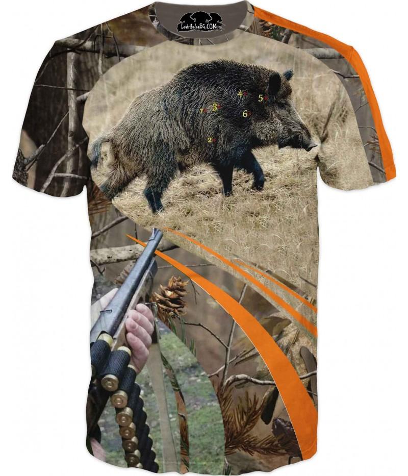 Страхотна ловна тениска - глиган на прицел