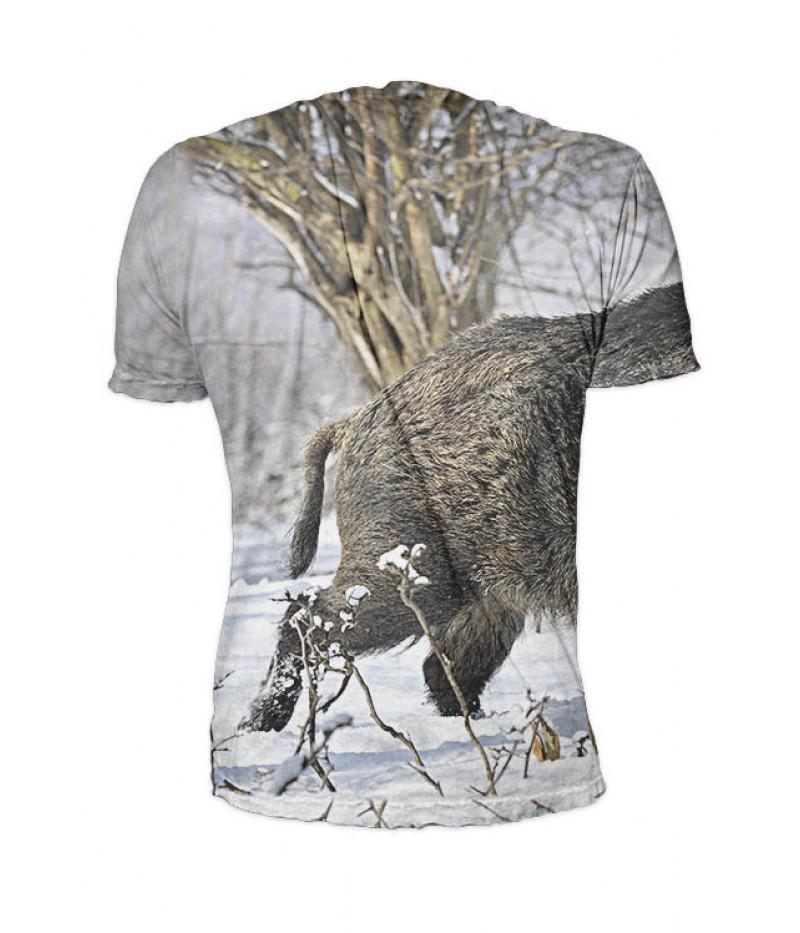 Ловна тениска с глиган