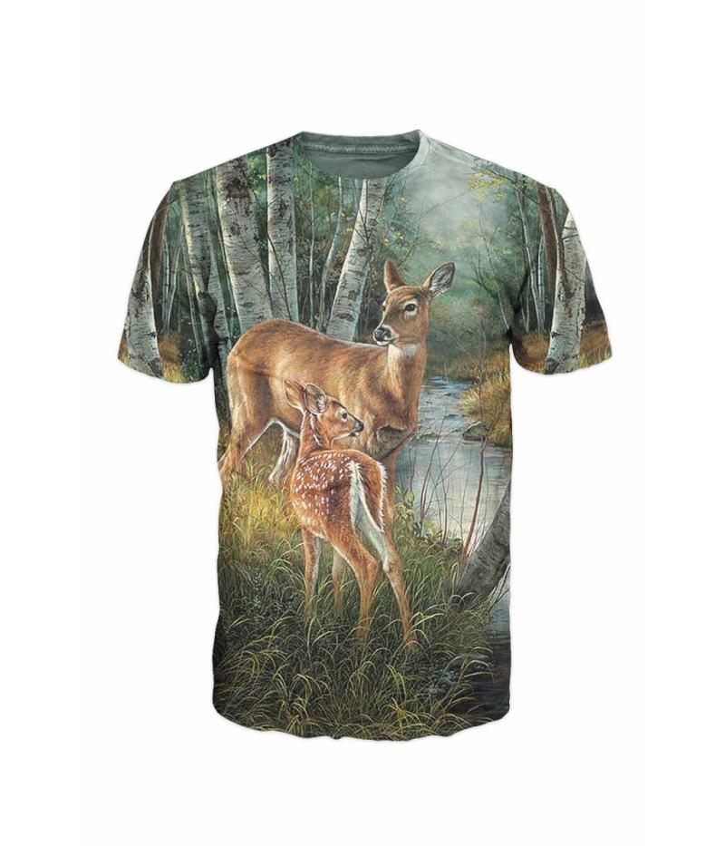 Ловна тениска със сърни