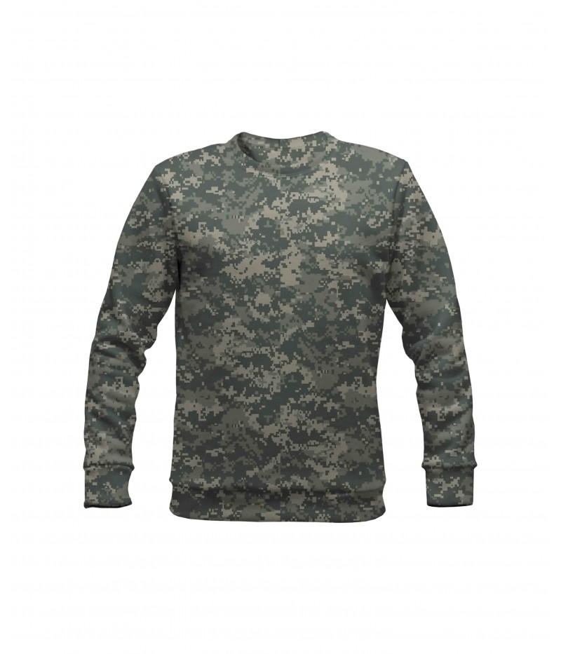 Ватирана блуза с камуфлаж-ACU