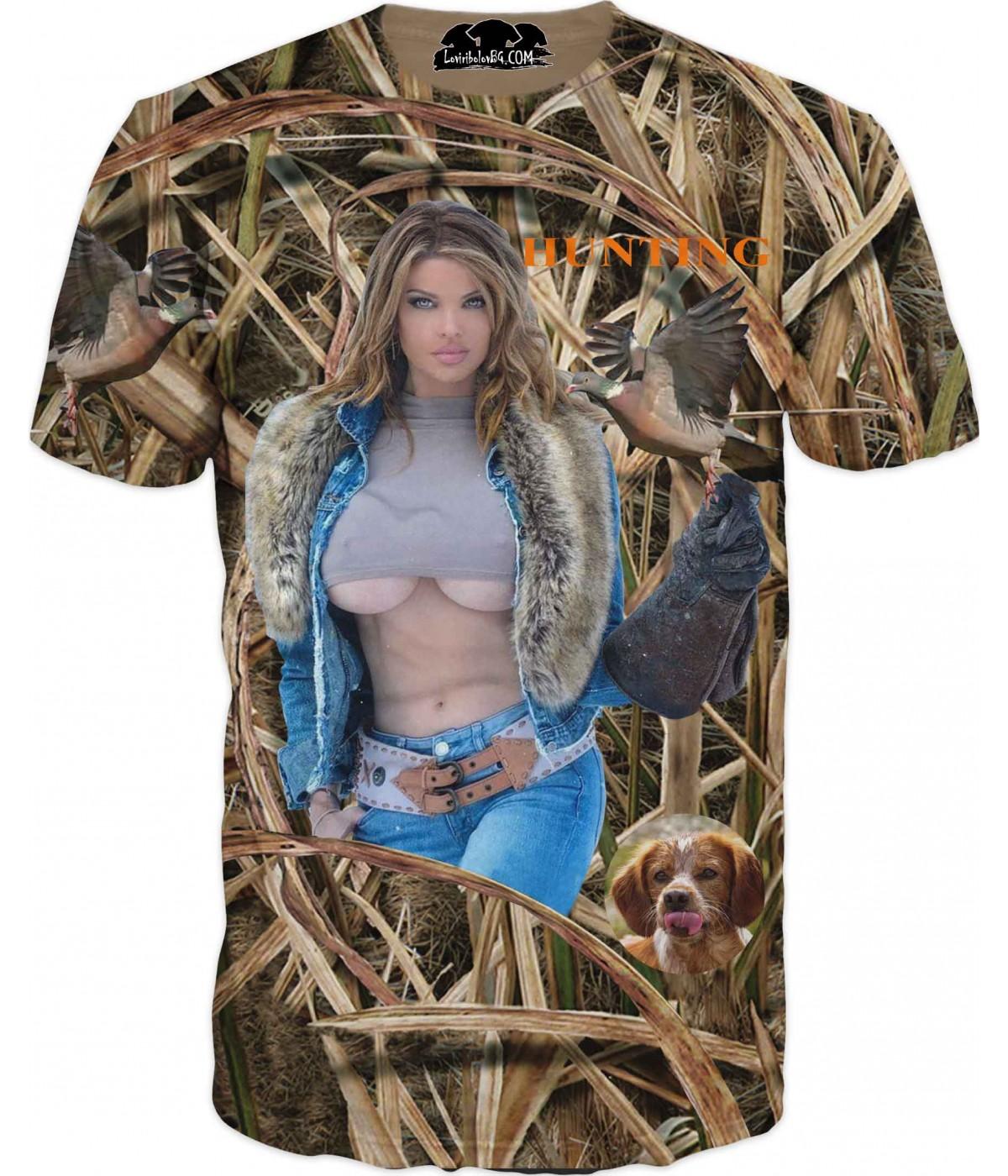 Ловна тениска - еротика